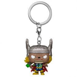 Llavero Pocket POP Marvel Zombies Thor - Imagen 1
