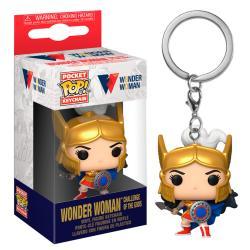 Llavero Pocket POP WW80th Wonder Woman Challenge Of The Gods - Imagen 1