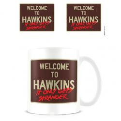 Taza Welcome to Hawkins Stranger Things - Imagen 1