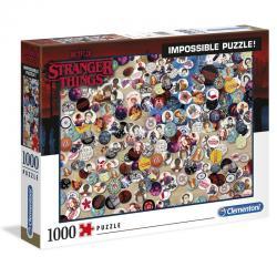 Puzzle Imposible Chapas Stranger Things 1000pcs - Imagen 1