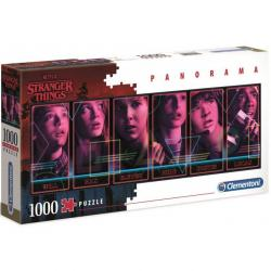 Puzzle Panorama Stranger Things 1000pz - Imagen 1