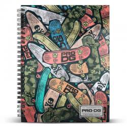Cuaderno A4 Pro DG Skate Pile - Imagen 1