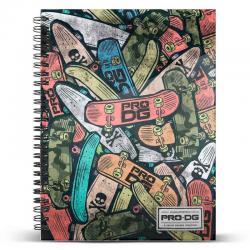 Cuaderno A5 Pro DG Skate Pile - Imagen 1