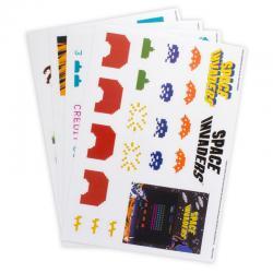 Vinilos decorativos Space Invaders - Imagen 1