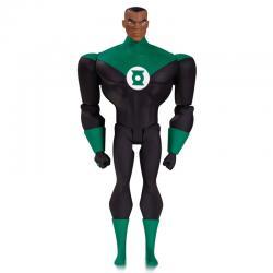 Figura Green Lantern John Stewart Justice League Animated DC Comics 14cm - Imagen 1