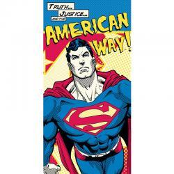 Toalla Superman DC American Way algodon - Imagen 1