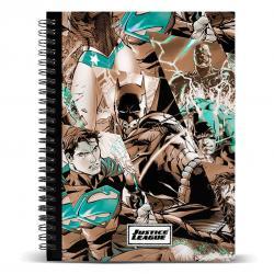 Cuaderno A5 Liga de la Justicia DC Comics - Imagen 1