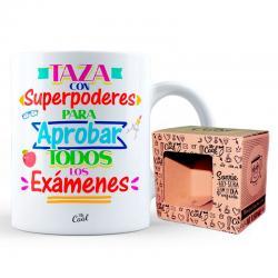 Taza Con Superpoderes Para Aprobar Todos Los Examenes - Imagen 1