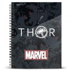 Cuaderno A5 Thor Tempest Marvel - Imagen 1