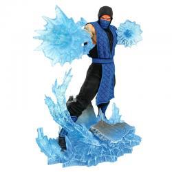 Figura diorama Mortal Kombat Gallery Sub-Zero 23cm - Imagen 1