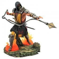 Estatua diorama Scorpion Mortal Kombat - Imagen 1