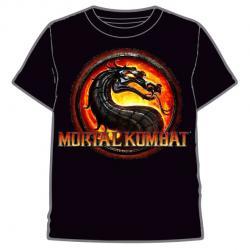 Camiseta Mortal Kombat infantil - Imagen 1