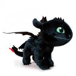 Peluche Desdentao Furia Nocturna Como Entrenar a tu Dragon 3 60cm - Imagen 1