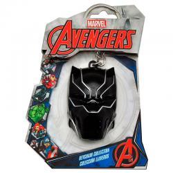Llavero 3D Black Panther Marvel - Imagen 1