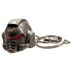 Llavero metal Space Marine Primaris Helmet Warhammer 40K - Imagen 1