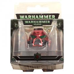 Llavero metal Space Marine MKVII Helmet Blood Angels Warhammer 40K - Imagen 1