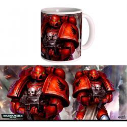 Taza Blood Angels Space Marines Warhammer 40K - Imagen 1
