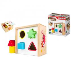 Caja formas madera - Imagen 1