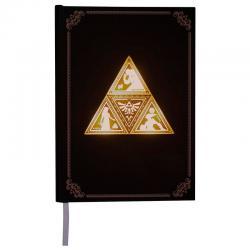 Libreta retroiluminada Zelda TriForce - Imagen 1