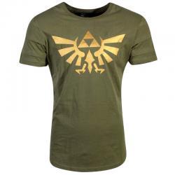 Camiseta Hyrule Pintuck Long Line Zelda Nintendo - Imagen 1