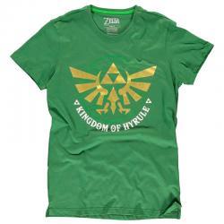 Camiseta Golden Hyrule Zelda Nintendo - Imagen 1