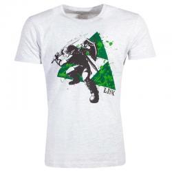 Camiseta Splatter Triforce Zelda Nintendo - Imagen 1