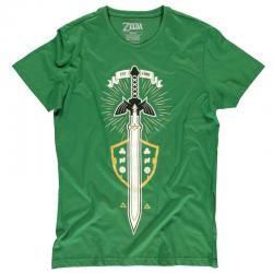 Camiseta The Master Sword Zelda Nintendo - Imagen 1