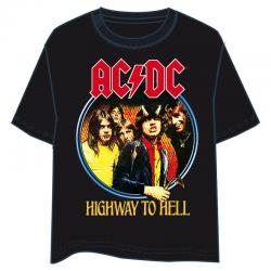 Camiseta Highway to Hell ACDC adulto - Imagen 1