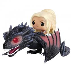 Figura POP Game of Thrones Daenerys & Drogon 18cm - Imagen 1