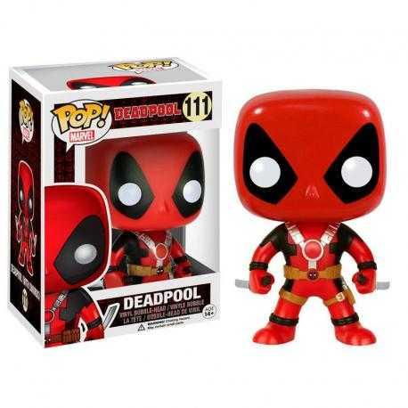Figura POP Marvel Deadpool swords - Imagen 1