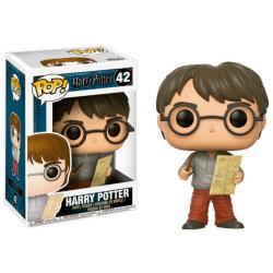 Figura POP Harry Potter Harry with Marauders Map - Imagen 1