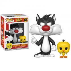 Figura POP Looney Tunes Sylvester & Tweety - Imagen 1