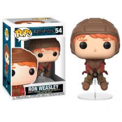 Figura POP Harry Potter Ron on Broom - Imagen 1