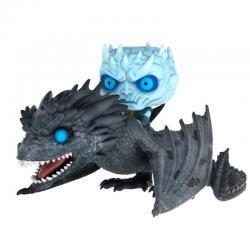 Figura POP Juego de Tronos Night King on Dragon 15cm - Imagen 1