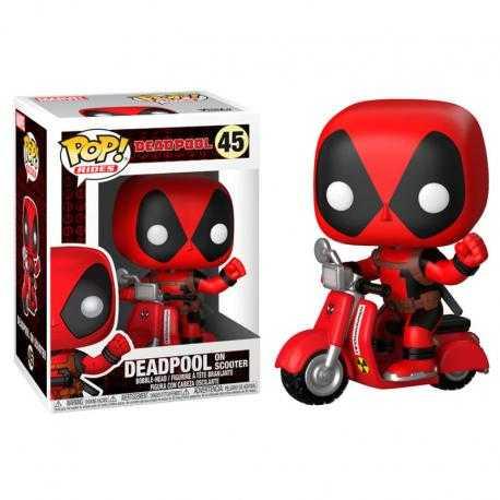 Figura POP Marvel Deadpool & Scooter - Imagen 1