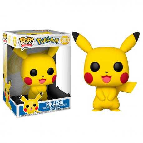 Figura POP Pokemon Pikachu 25cm - Imagen 1