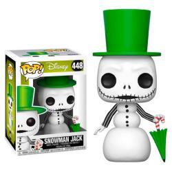 Figura POP Disney Pesadilla Antes de Navidad Snowman Jack - Imagen 1