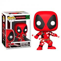 Figura POP Marvel Holiday Deadpool with Candy Canes - Imagen 1