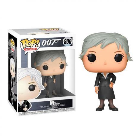 Figura POP James Bond M - Imagen 1