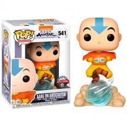 Figura POP Avatar Aang on Air Bubble Exclusive - Imagen 1
