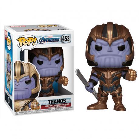 Figura POP Marvel Avengers Endgame Thanos - Imagen 1