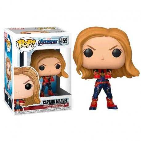 Figura POP Marvel Avengers Endgame Captain Marvel - Imagen 1