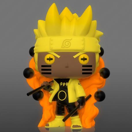 Figura POP Naruto Naruto Six Path Sage Glow - Imagen 1