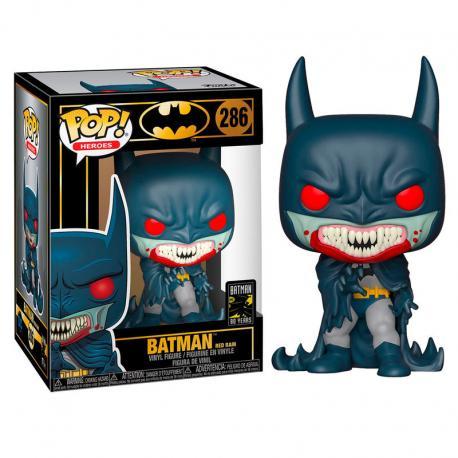 Figura POP DC Comics Batman 80th Red Rain 1991 - Imagen 1