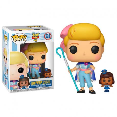 Figura POP Disney Toy Story 4 Bo Peep with Officer McDimples - Imagen 1