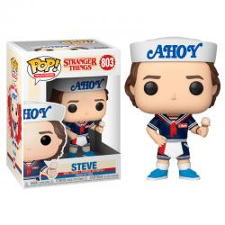 Figura POP Stranger Things 3 Steve with Hat and Ice Cream - Imagen 1