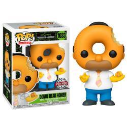 Figura POP Simpsons Donut Head Homer Exclusive - Imagen 1