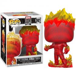Figura POP Marvel 80th First Appearance Human Torch - Imagen 1
