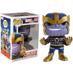 Figura POP Marvel Holiday Thanos - Imagen 1