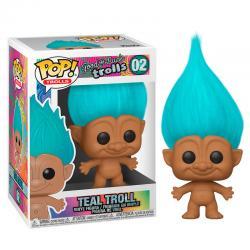 Figura POP Trolls Teal Troll - Imagen 1